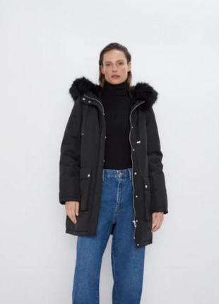 😍ликвмдация товара 😍шикарная парка / куртка zara