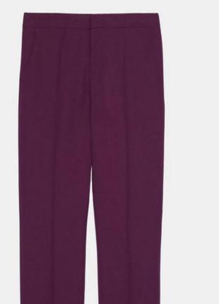 Шикарные брюки цвета фуксии zara4 фото