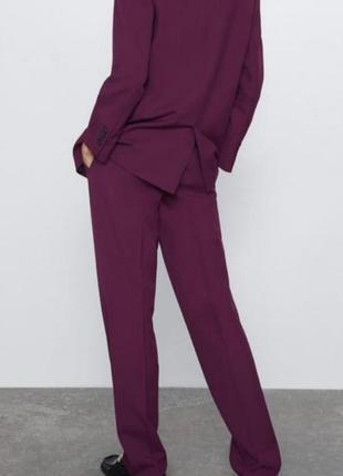Шикарные брюки цвета фуксии zara6 фото
