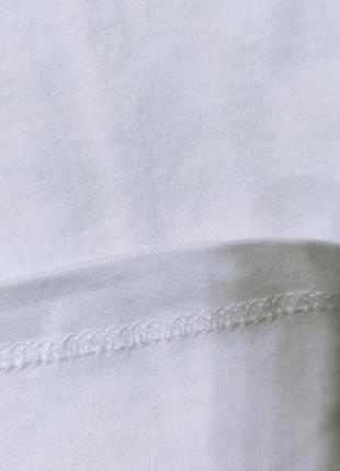 Хлопковая женская футболка с принтом5 фото