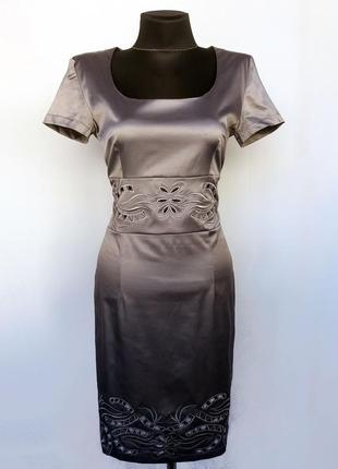 Суперцена. стильное платье, сквозная вышивка ришелье. турция. новое, р-ры 42-48