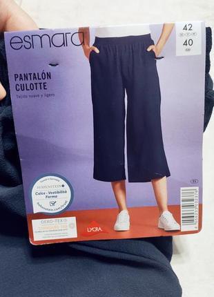 Женские штаны кюлоты, свободные штаны
