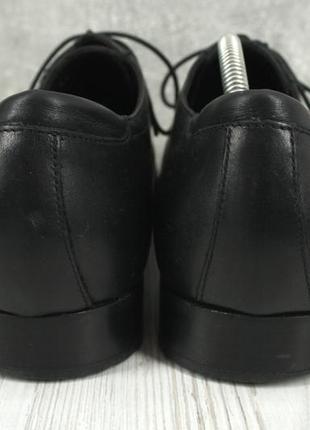 """Стильные итальянские кожаные мужские туфли """"lacoste"""". размер uk10/ eur44.5 фото"""