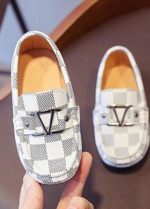 Мокасины туфельки для мальчика