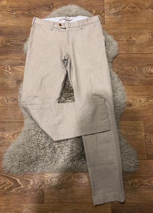 Шикарные шерстяные штаны pelikamo
