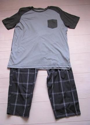 Мягкая пижама, домашний комплект из нат хлопка livergy