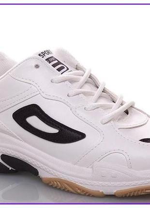 Распродажа последних пар весенней коллекции!!!кроссовки белые .-37-