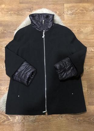 Шикарное пальто куртка премиум класса perte by krizia