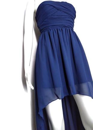 👛super sale -50%👛шикарное синее платье ультрамарин от rare london size 12