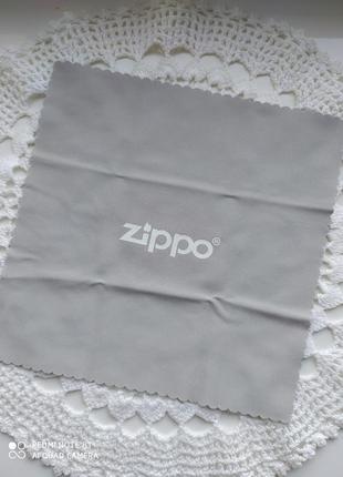 Салфетка для очков, для протирания стекла, для окулярів, серветка zippo