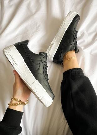 Женские кроссовки nike air force pixel черные скидка sale | жіночі кросівки найк знижка