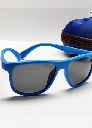 Детские очки неломайки линза поляризацийна с футляром