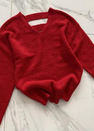 Красный свитерок f&f