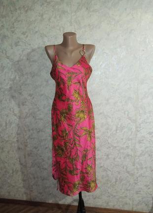 Платье миди сарафан сукня