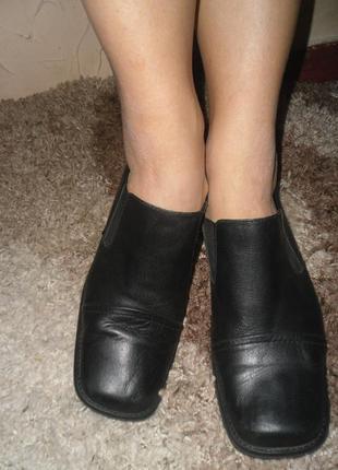 Распродажа осенней обуви50% 26,5 кожа/бесплатная доставка