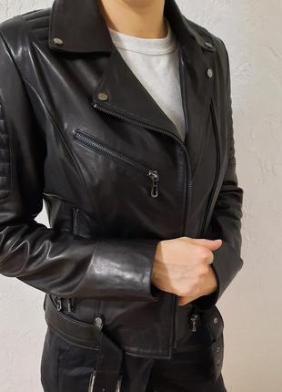 Кожаная куртка (косуха) ece pelle