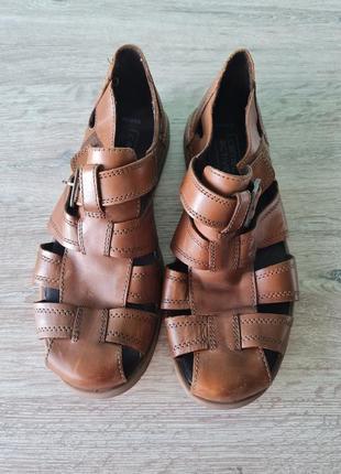 Босоножки мужские сандалии кожа camel active сандалі чоловічі шкіряні