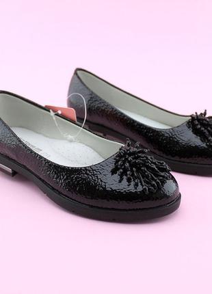 Туфли для девочки черные тм том.м