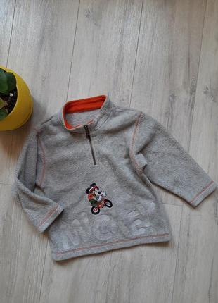 Флисовая кофта marks&spencer 3-4 года свитер