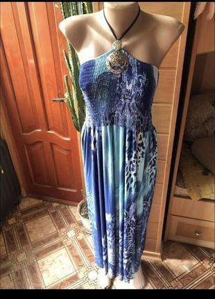 Классное свободное платье