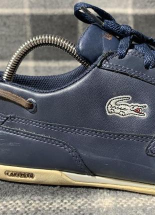 Мужские кожаные туфли lacoste2 фото