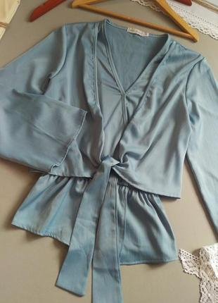 Блуза с длинным рукавом италия s m