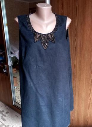 Платье. лен