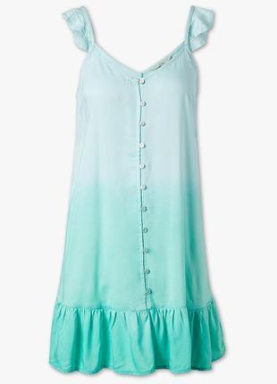 Легкое летнее платье clockhouse (испания)