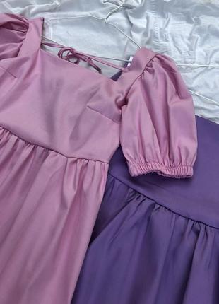 Платье зефирка милое и воздушное baby doll