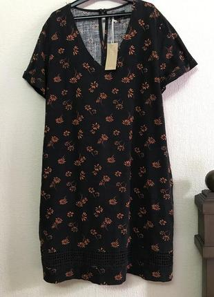Next платье из льна р 48 - 52  ml - xl