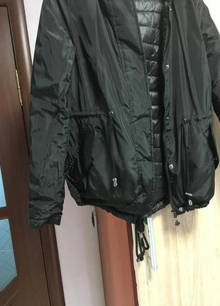 Куртка двостороння, весна осінь