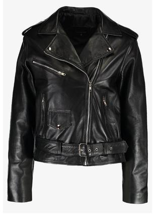 Новая оверсайз косуха 12 midnight 100% кожа m, l идеальная кожаная куртка кожанка