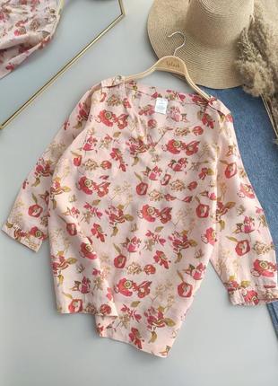 Льняная, очень красивая рубашка