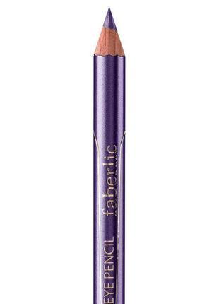 Фиолетовый карандаш для глаз, 5473 faberlic, карандаш для глаз «краски космоса», тон «след кометы».