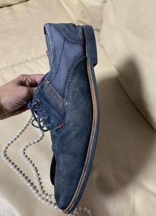 Люкс бренд натуральная замша мужские туфли смешная цена3 фото