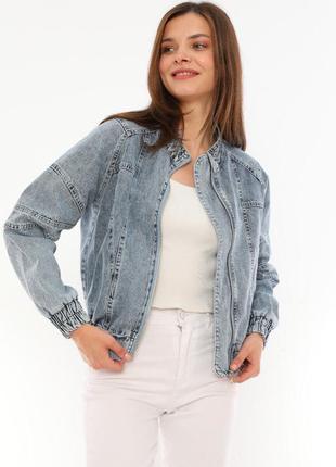Джинсова куртка піджак новинка 2021 жіночі