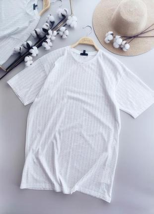 Трикотажное платье,футболка