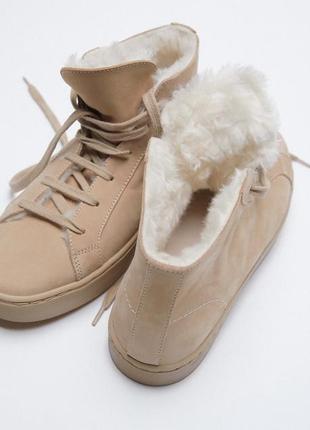 Ботинки кроссовки zara новые