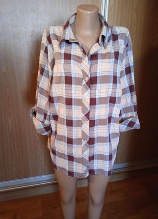 Суперская рубашка, большой размер