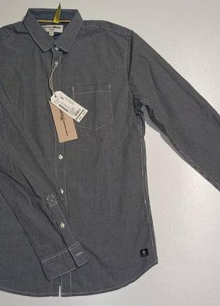 Сорочка чоловіча клітка tom tailor/оригінал