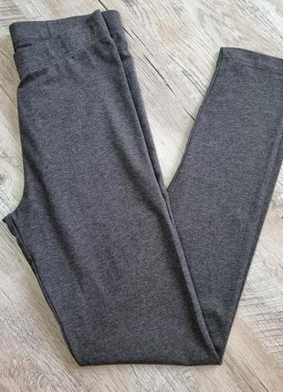Леггенсы женские, размер xs, m, цвет серый