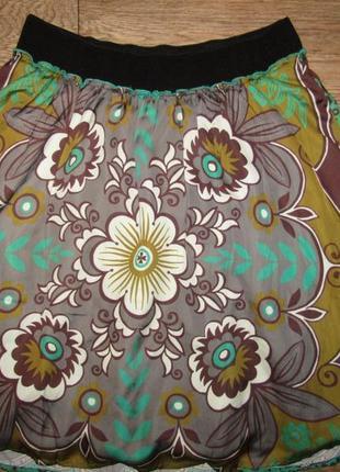 Красивая стройнящая юбка р-р 16-18 бренд didi