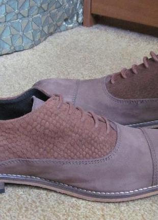 Туфли оксфорды dune р.42. оригинал2 фото