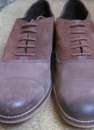Туфли оксфорды dune р.42. оригинал4 фото