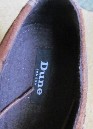 Туфли оксфорды dune р.42. оригинал7 фото
