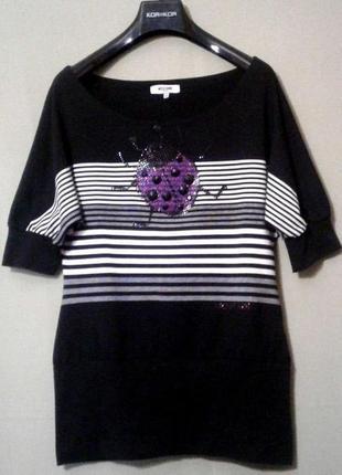 Блузка трикотажная moschino