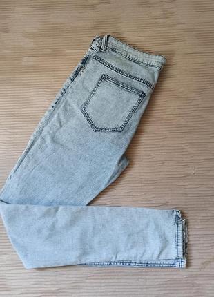 Джинси скіні джеггінси світлі м джинсы летние светлые в обтяжку м  варенки акция распродажа