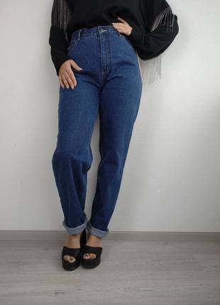 Новые с биркой джинсы синие slouchi mom brooker размер m