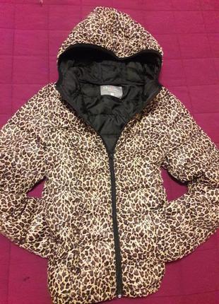 Тренд гламурная леопардовая легкая   курточька!