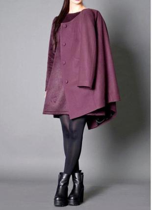 Пальто осень зима тёплое стильное не длинное короткое n&m